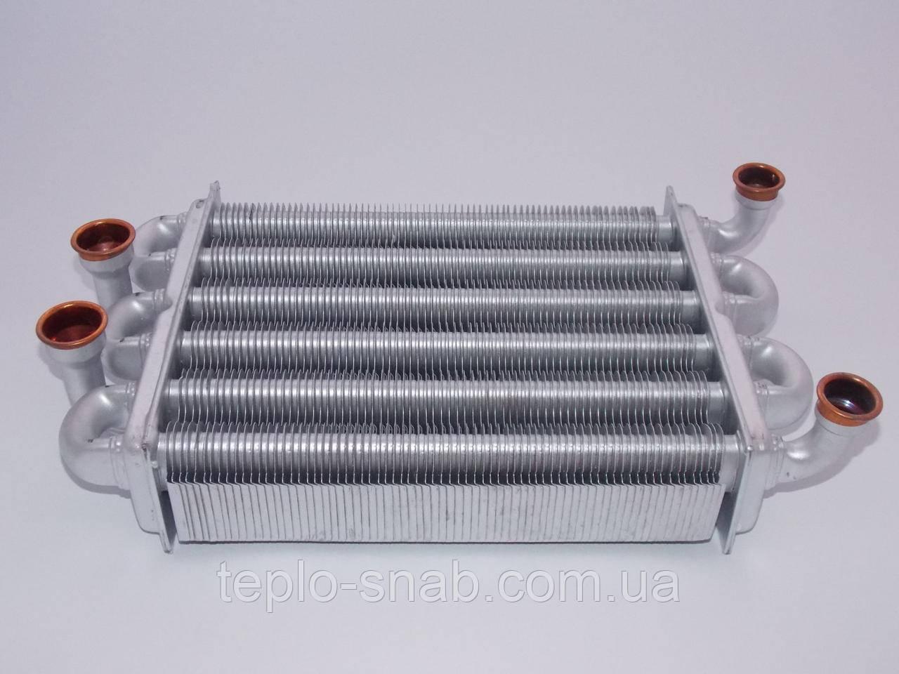 Теплообменник битермический Immergas Star 24 3 E/Alpha Boilers CB 24 TF/CB 24 TN (Клипса). 1.024398
