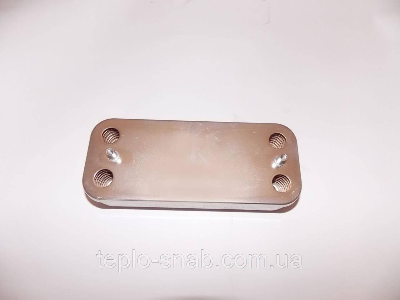 Вторинний теплообмінник Ariston/Chaffoteaux. 10 пл. 995945, 61302409
