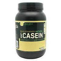 Казеиновый сывороточный протеин медленны Optimum Nutrition 100% Casein Gold Standard Natural (909 г)