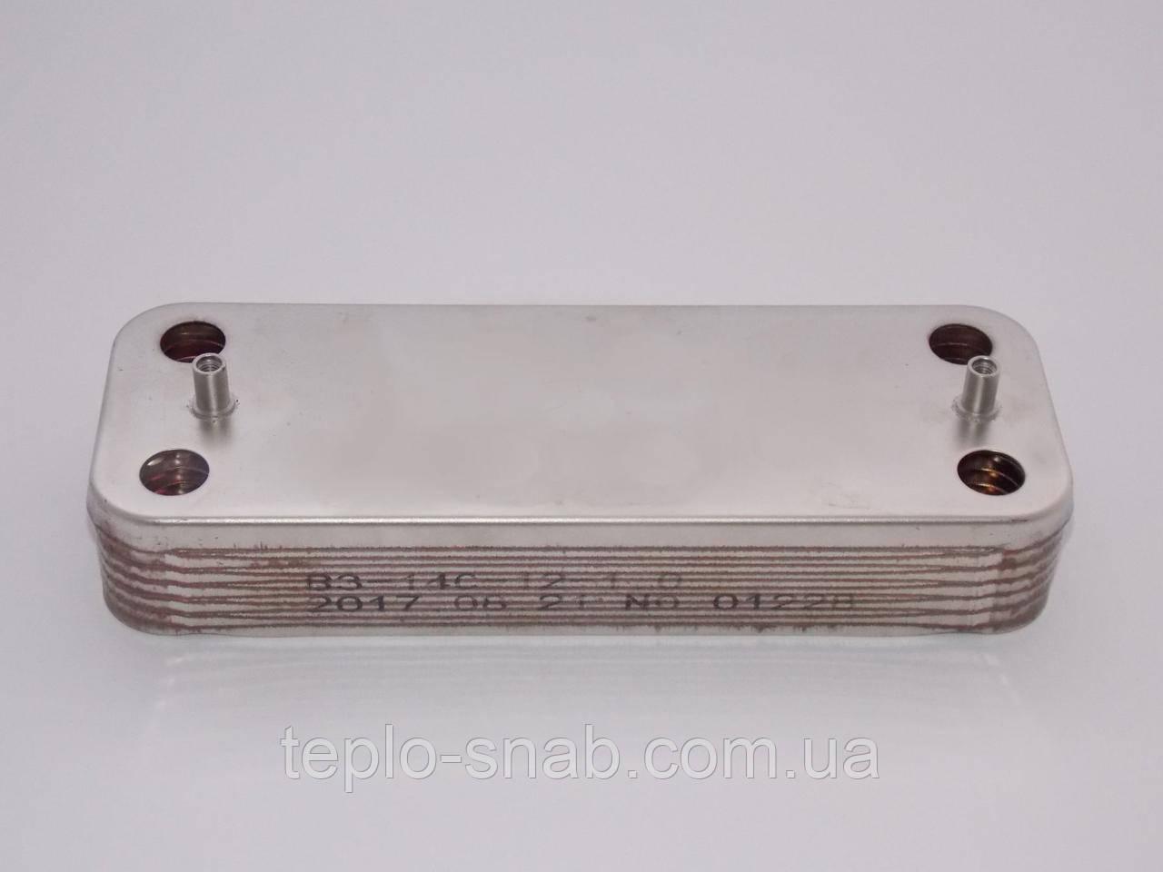Теплообменник вторичный Ariston Microgenus Plus. 12 пл. 998483