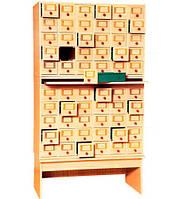 Шкаф картотечный на 60 ящиков (80701)