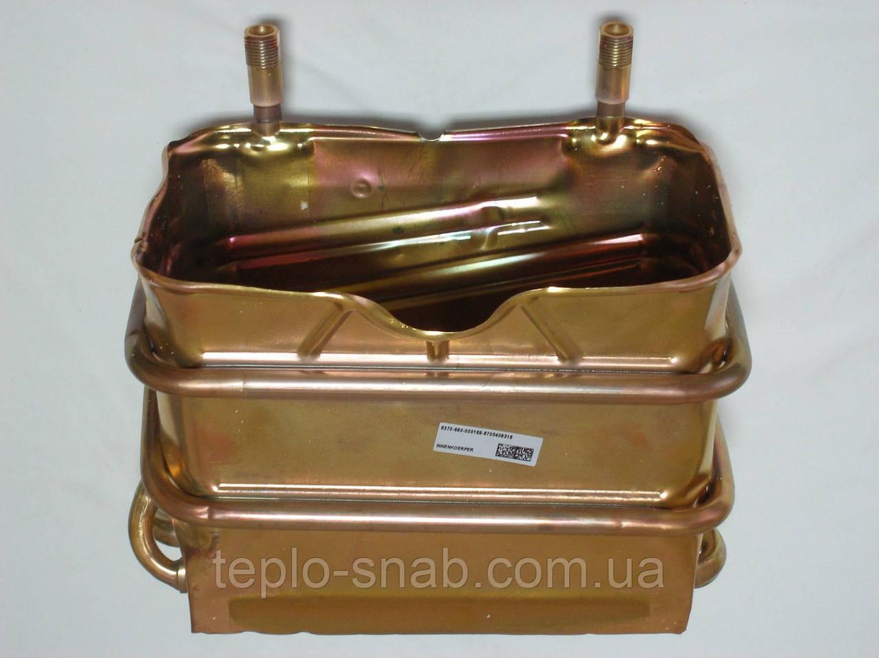 Теплообменник первичный для газового котла Junkers / Bosch ZW 23-1 KE. 8705406428, 8705406318