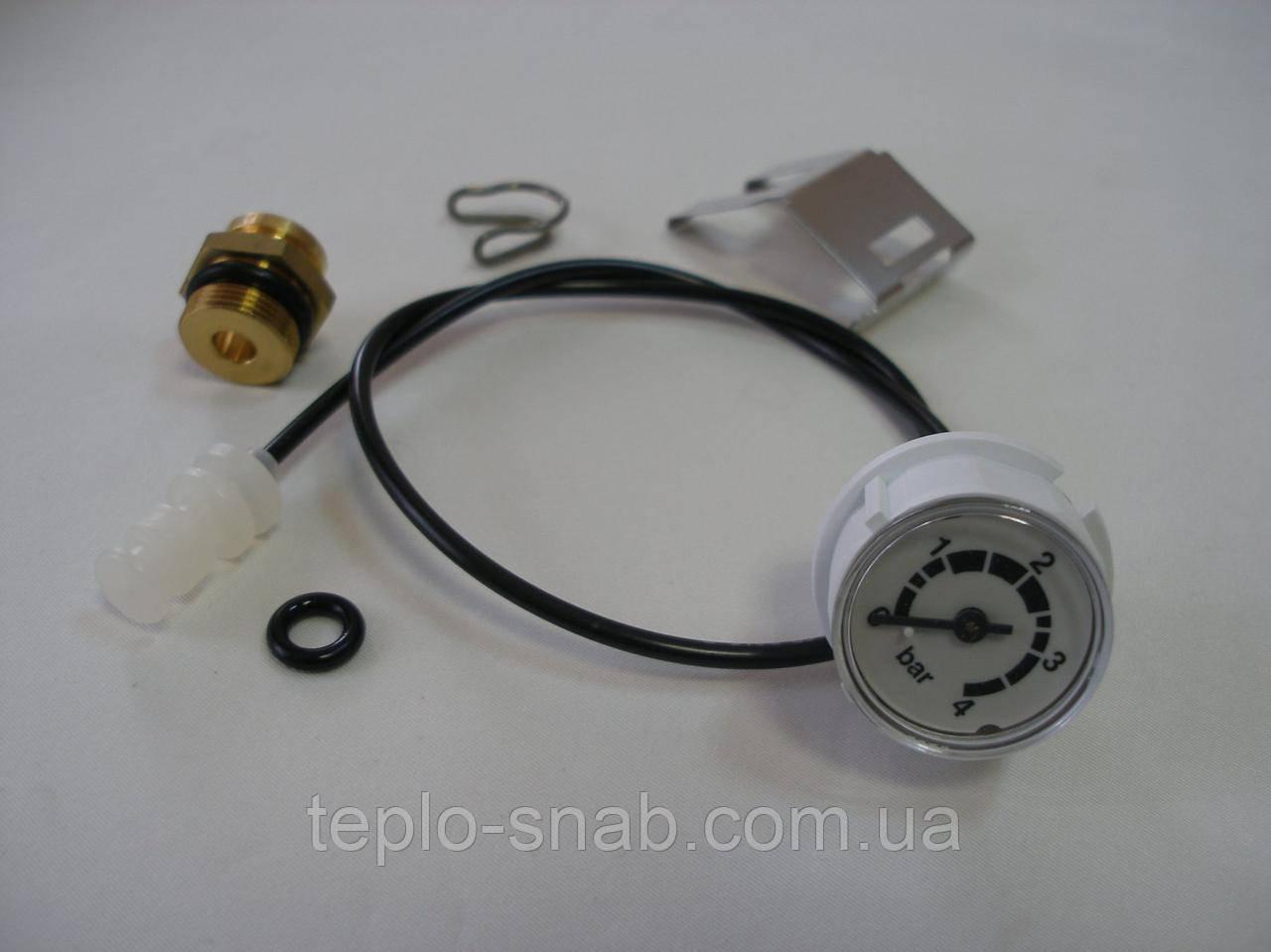 Манометр Junkers Bosch ZW23-1KE / AE 8738703601 (8707208009, 8707208019)