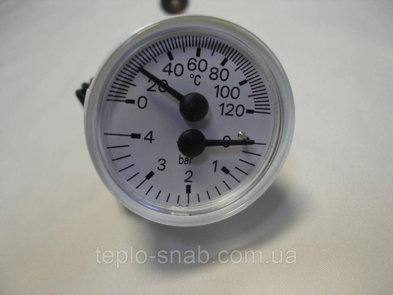 Термоманометр газового навесного котла Beretta City, City J. 20011061, R10030294