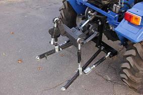 Трёхточечная навесная система на мототрактор (Скаут Т-18)