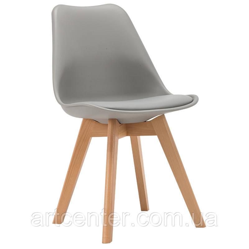 Стул для офиса, стул для дома, стул для посетителей, стул черный с мягким сиденьем (ТОР серый)
