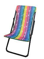 Шезлонг кресло складной для отдыха Релакс