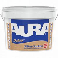 Силиконовая структурная краска Aura Dekor Silikon Struktur 14.8кг