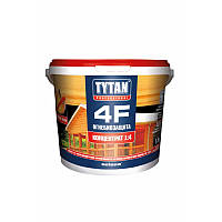ОгнеБиозащита для дерева 4F TYTAN - бесцветный концентрат 1:4 - 1 кг