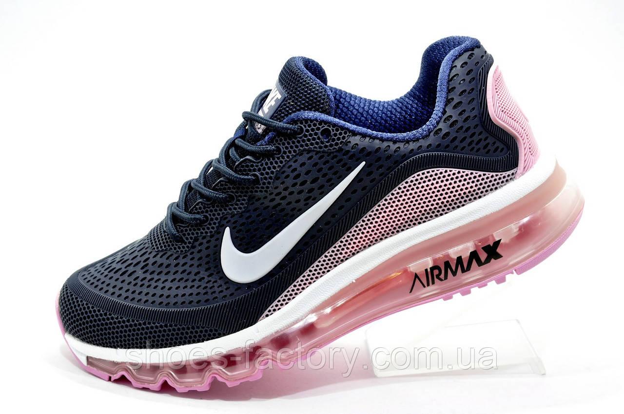 Беговые женские кроссовки в стиле Nike Air Max More KPU, (Аир Макс)