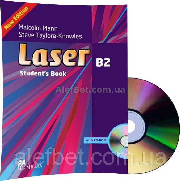 Laser b2 third edition student's book and cd rom pack (учебник с.