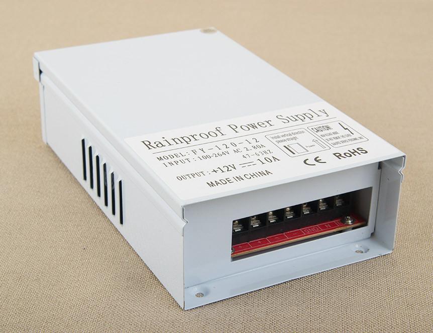 Dilux - Блок питания всепогодный - уличный 120Вт, 12В, 10А, IP54. Premium класс, гарантия 2года.