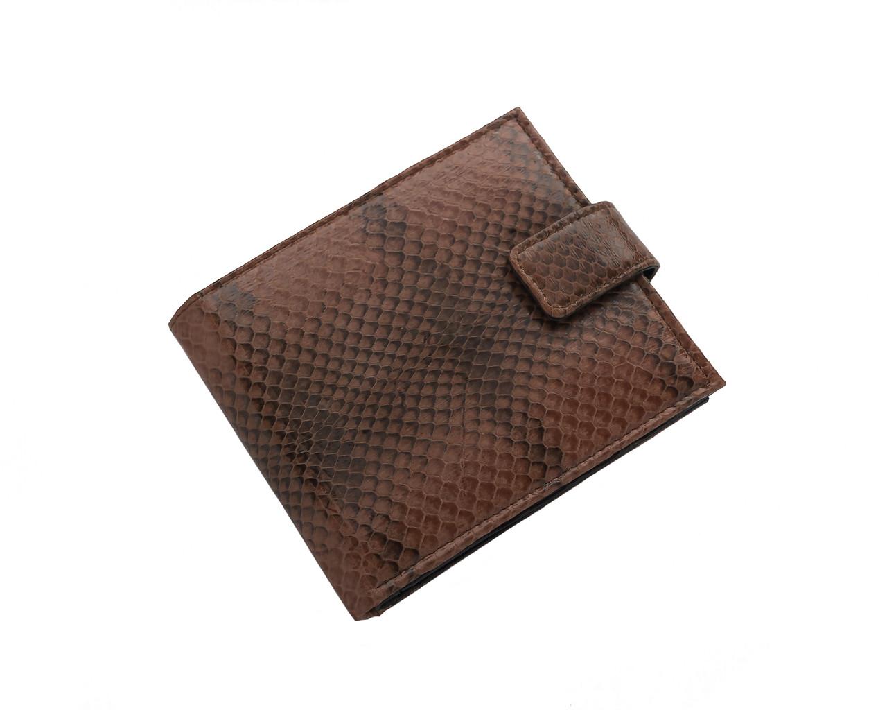 Кошелек из кожи морской змеи Ekzotic Leather  Коричневый (snw61_3)
