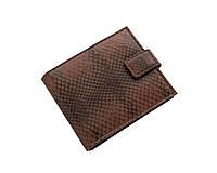 Кошелек из кожи морской змеи Ekzotic Leather  Коричневый (snw61_3), фото 1