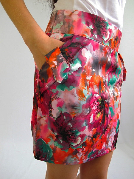 Стильная молодежная юбка. Юбка Элисон