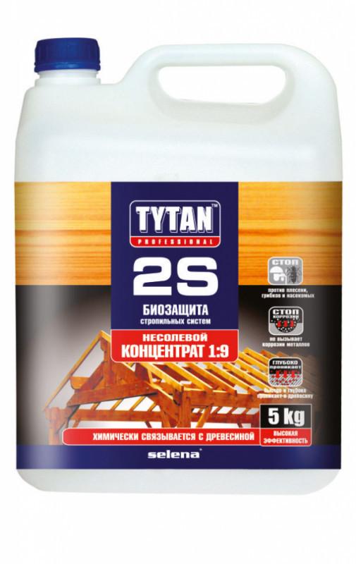 Антисептик для кроквяних систем 2S TYTAN - концентрат 1:9 - 5 кг