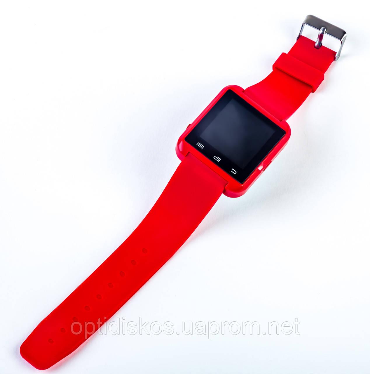 красные смарт часы