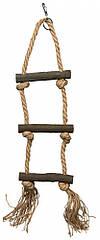 Лестница Trixie Rope Ladder для птиц, 3 ступеньки, 40 см