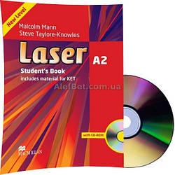 Английский язык / Laser / Student's Book+CD. Учебник с диском, А2/ Macmillan