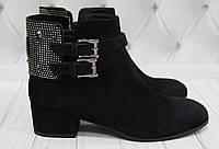 Ботинки женские демисезонные замшевые Ginny, фото 1