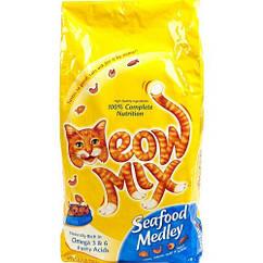 Meow Mix Seafood Medley (Мяу Микс Сифуд Мидли) корм для взрослых кошек 6.44 кг