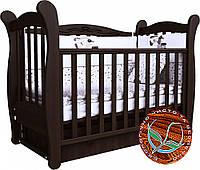 Детская кроватка Соня ЛД 15 маятник, фото 1