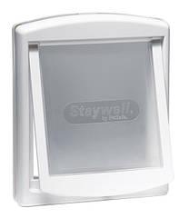 Дверца Staywell Original для собак средних пород, белая, 352х294 мм