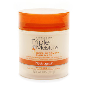 Восстанавливающая маска для волос Neutrogena Triple Moisture Deep Recovery Hair Mask