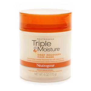 Восстанавливающая маска для волос Neutrogena Triple Moisture Deep Recovery Hair Mask