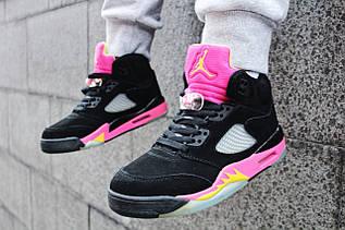 Кроссовки женские Nike Air Jordan 5 / AJW-047 (Реплика)