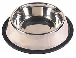 Миска Trixie Stainless Steel Bowl для собак, нержавеющая сталь, 2.8 л