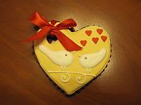 """Пряник для влюбленных """"Любящее сердце"""""""