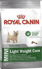 Royal Canin Mini Light Weight Care 800 г для маленьких пород, склонных к полне