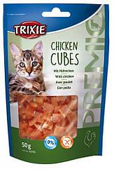 Лакомство Trixie Premio Chicken Cubes для кошек с курицей, 50 г