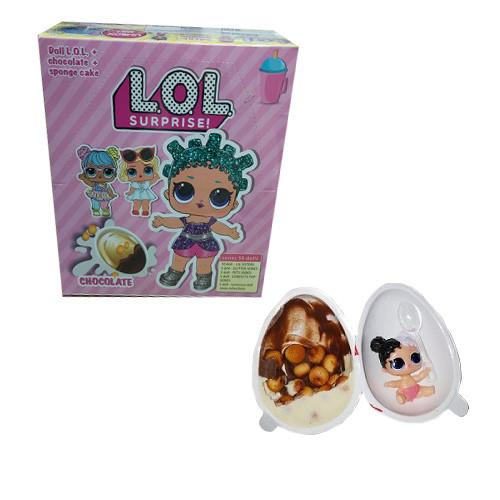 Яйцо с сюрпризом L.O.L.original 15 г/12 шт/12 в ящ