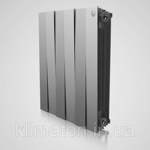 Радіатор Royal Thermo Piano Forte 500 Silver Satin 6