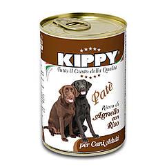 Паштет Kippy Dog для собак с ягненком и рисом, 400 г