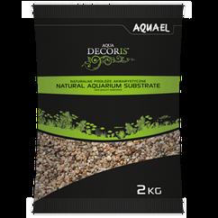 Грунт Aquael Aqua Decoris для аквариума натуральный 3-5 мм, 2 кг(114044)