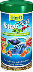 Корм TetraPro Algae для рыб в чипсах, с овощами, 100 мл