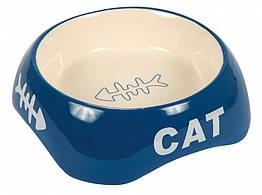 Миска Trixie Ceramic Bowl для кошек, керамика, 0.2 л