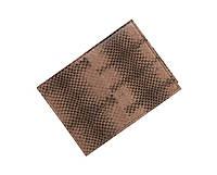 Обложка для паспорта Ekzotic Leather  Коричневая (snp01_4), фото 1