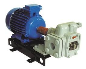 Насосний агрегат НМШ 5-25-4,0/25 з 5,5 кВт шестерневий