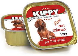 Паштет Kippy Dog для собак с говядиной, 150 г