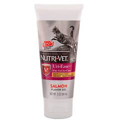 Витаминный комплекс Nutri-Vet Uri-Ease для кошек, профилактика и лечение мочекаменной болезни, 89 мл