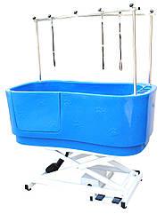 Ванна для груминга (с электро подъемником) 148*80*(45-75+58) см