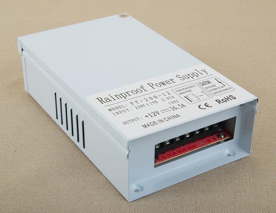 Dilux - Блок живлення всепогодний - вуличний 200Вт, 12В, 16,7 А, IP54. Premium клас, гарантія 2роки.