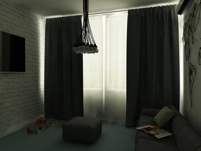 Сдержанность, чистота, ощущение пространства и воздуха за счет большого остекления поддерживают философию созерцательности в пространстве.