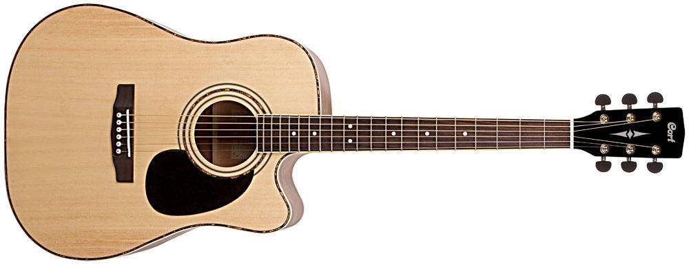 Електро-акустична гітара CORT AD880CE (NAT)