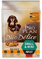 Pro Plan Duo Delice Adult Small & Mini Корм для собак мелких пород