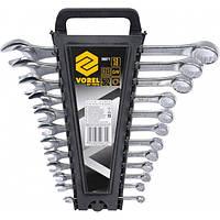 Набор ключей рожково - накидных VOREL, М 6-22 мм, 12 шт, V-50871